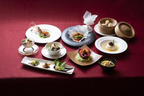 GoToトラベルキャンペーン割引対象【贅沢ディナー 料理長菜譜】沖縄フュージョンのチャイニーズディナー<2食付>