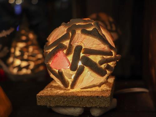 【おこもり 貝殻deアロマランプ作り】自分へのプレゼント作りを楽しむ おこもり滞在<3泊~>