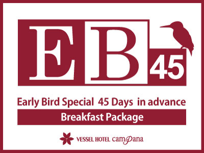 45 Days Early Bird -with breakfast-